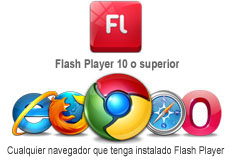flash player requerido